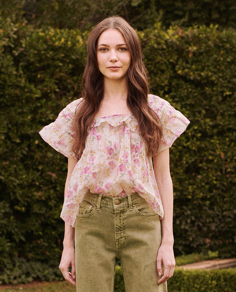 The Orchard Top. -- SWEET PEA FLORAL