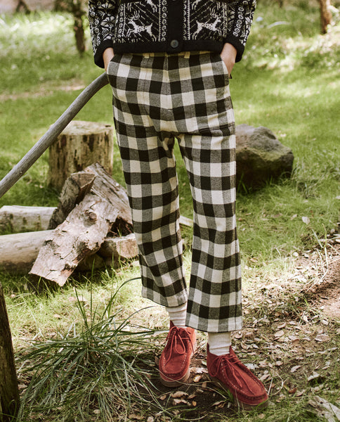 The Ranger Pant. -- Cocoa Buffalo Check