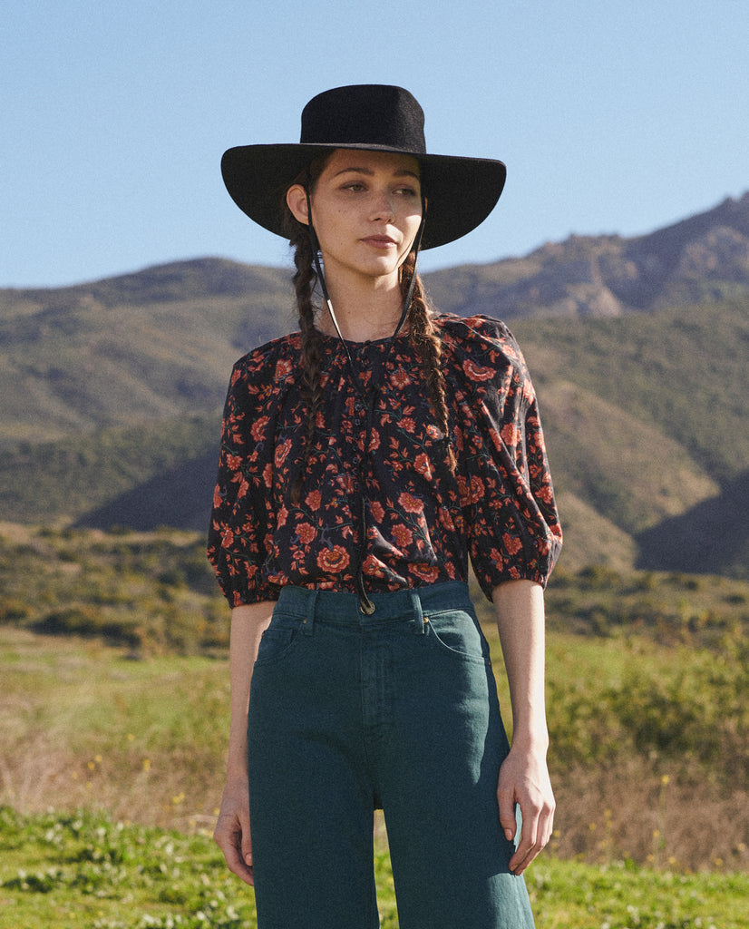 The Ravine Top. -- ANTIQUE FLORAL