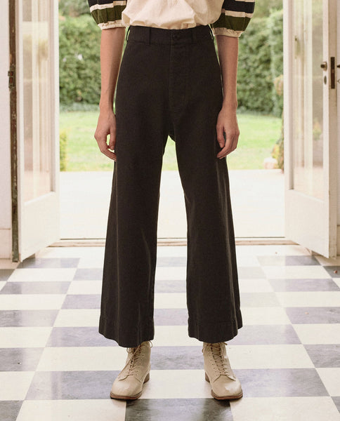 The Seafair Trouser. -- ALMOST BLACK
