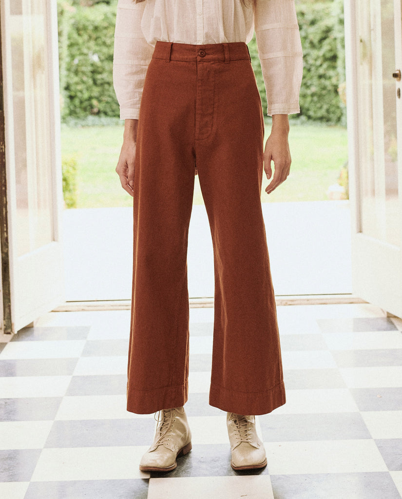 The Seafair Trouser. -- Carob