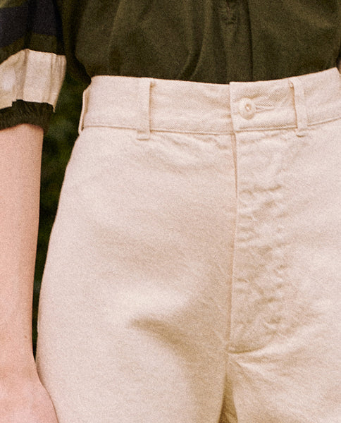 The Seafair Trouser. -- Cream