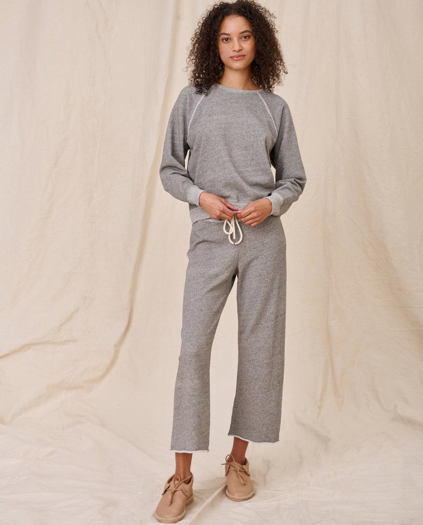 The Shrunken Sweatshirt. -- Varsity Grey