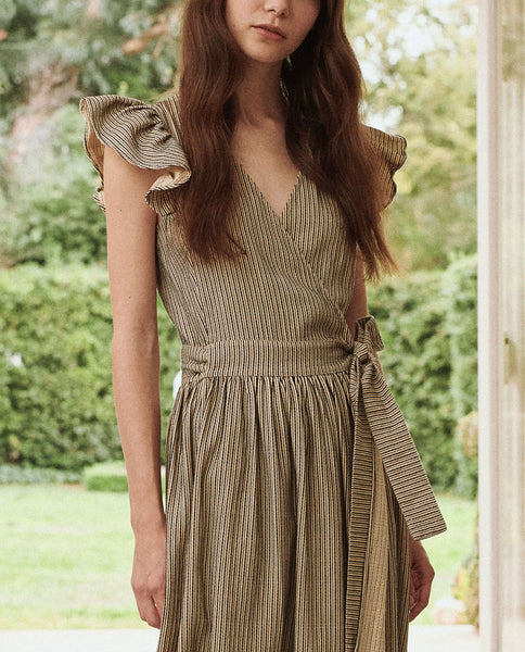 The Spree Dress. -- FRONTIER STRIPE