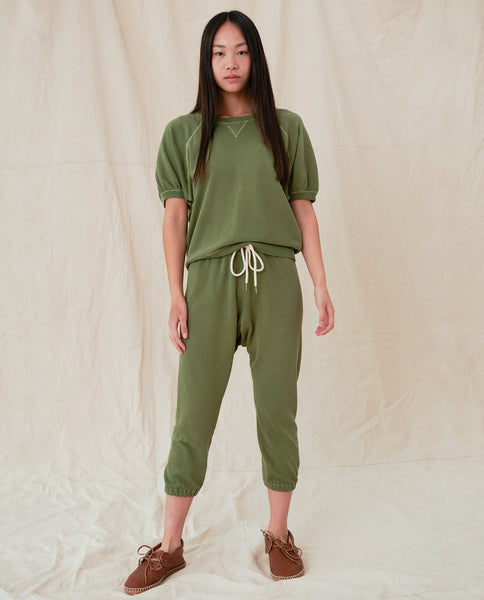 The Stadium Sweatpant. -- HEATHER SUNLIT ARMY