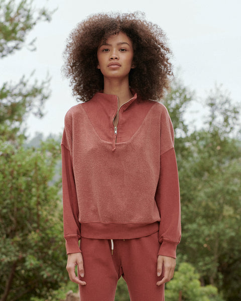 The Trail Sweatshirt. -- DRIED CURRANT