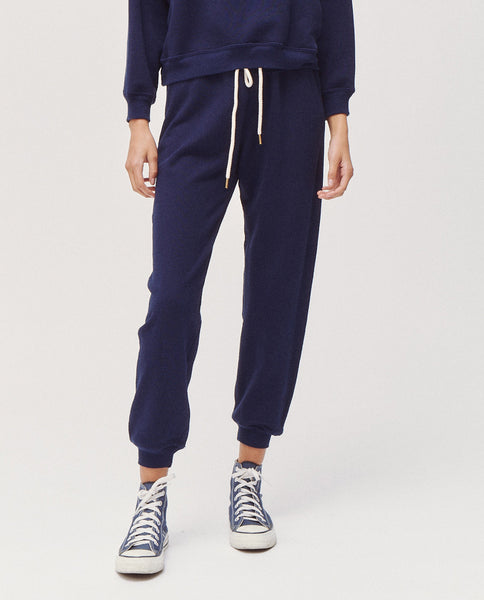 The Pure Knits Vintage Sweatpant. -- Bright Navy