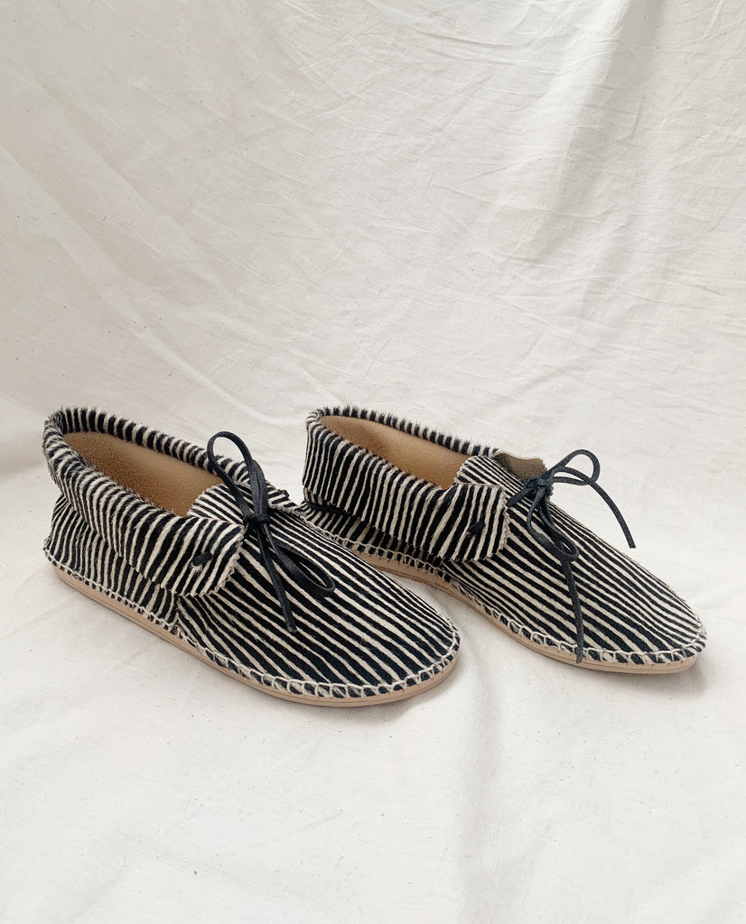 The Canyon Moccasin. -- Zebra