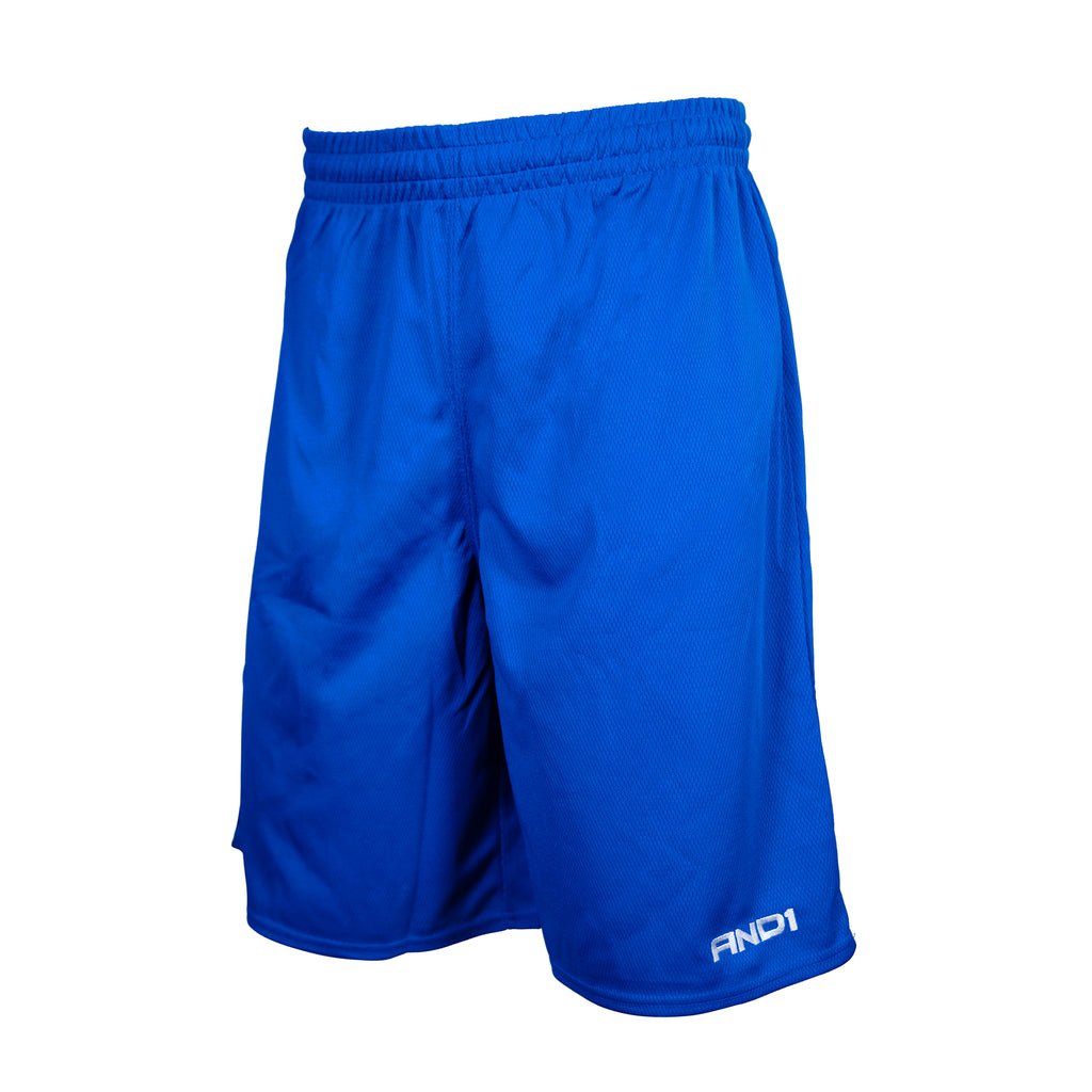 AND1 - 'No Sweat' Basketball Shorts - Royal