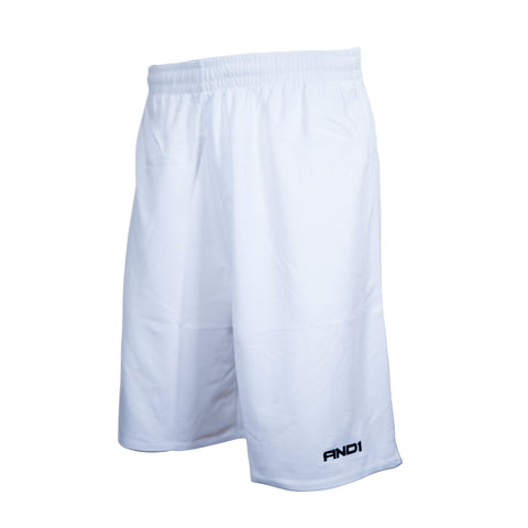 AND1 - 'No Sweat' Basketball Shorts - White