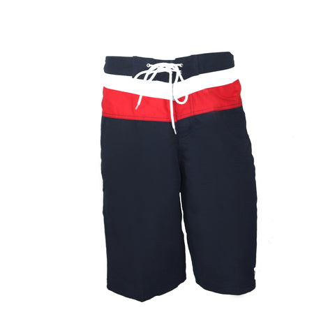 Mens Anvil Boardshort - Navy/Red/White