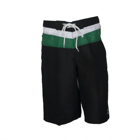 Mens Anvil Boardshort - Black/Green/White