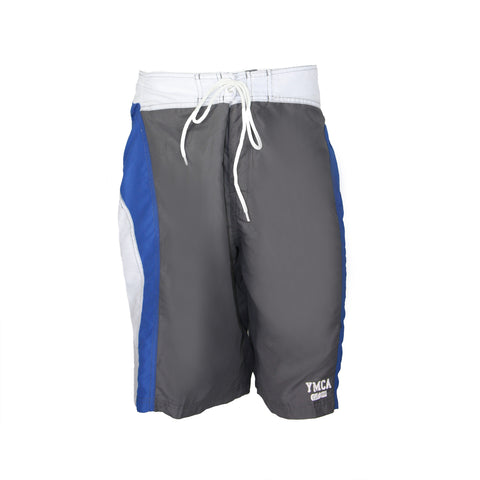 Mens Tailwind Boardshort - Charcoal/Blue/White