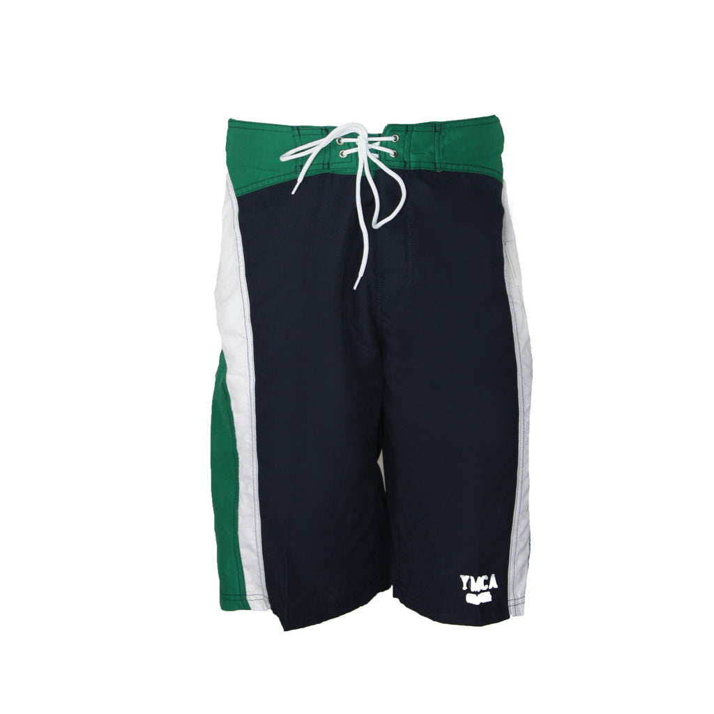 Mens Tailwind Boardshort - Navy/Green/White