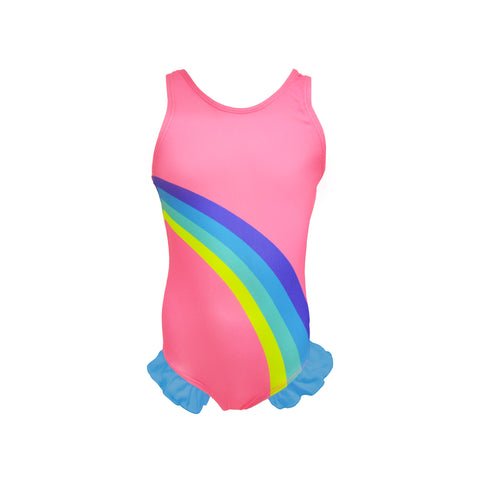 Junior Girls Rainbow Swimsuit