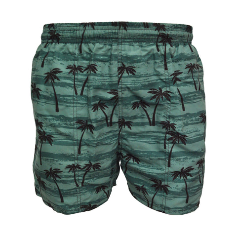 Mens Hawaiian Palm Leisure Short