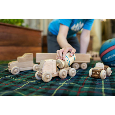 YMCA ReBuild - Cement Truck Wooden Toy