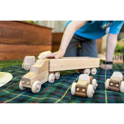 YMCA ReBuild - Semi-Trailer Wooden Toy