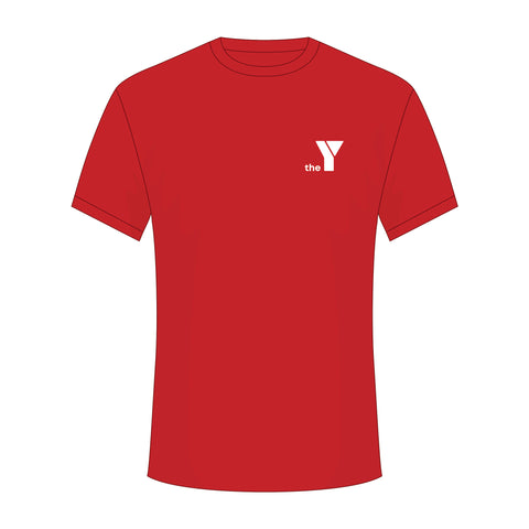 Y Belief Tee - Red (Limited Sizes Remaining)