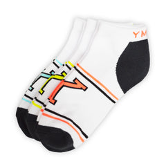 YMCA Womens Varsity 3-Pack Sports Socks (8-11)