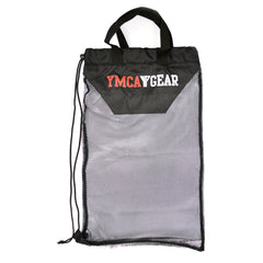 YMCA Gear Black Mesh Bag