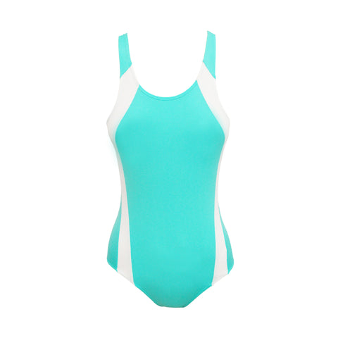 Youth Girls Fresh Blue Swimsuit