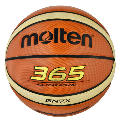 Molten BGN Indoor / Outdoor Basketball - Brown / Cream - Size 6