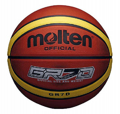 Molten BGRX 12 Panel Basketball - Brown/Cream