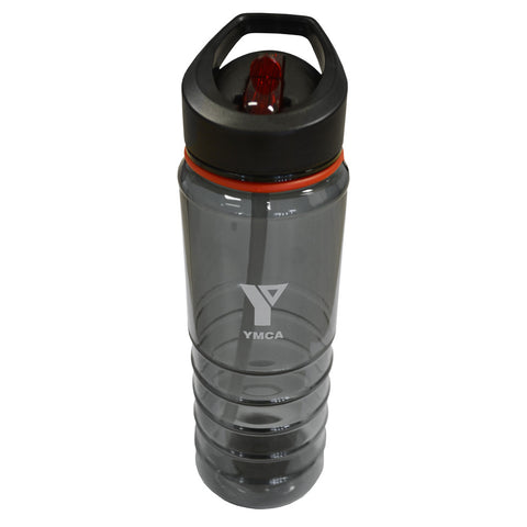 "Water Bottle - Black Crystal ""YMCA"""