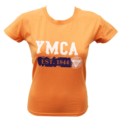 Womens Establishment Tee - Orange