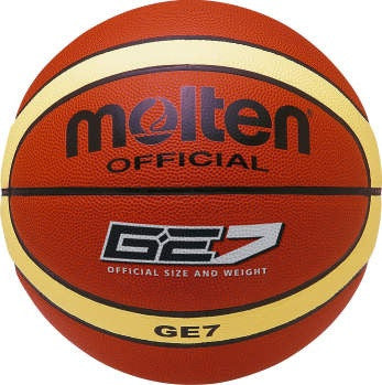Molten BGE Synthetic Leather Basketball - Brown / Cream
