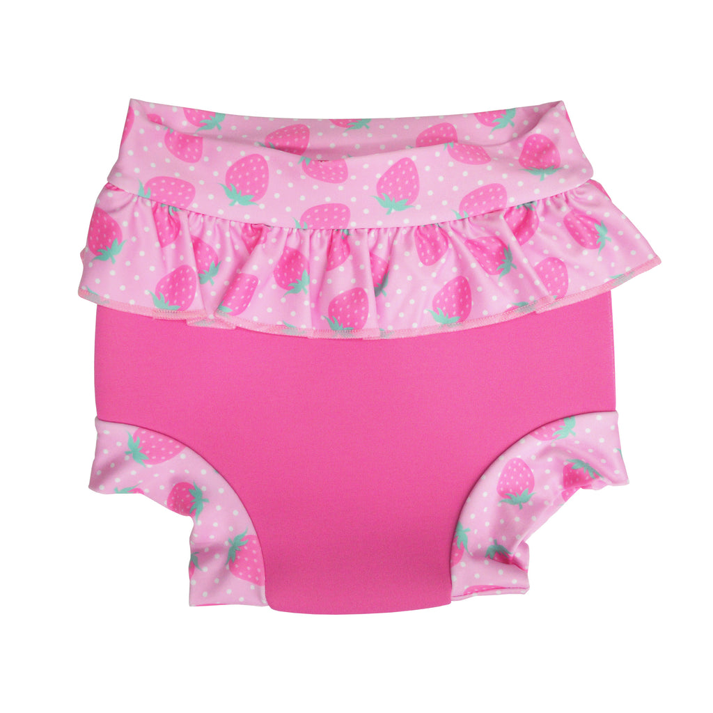 Aqua Bubs - Berry Nice Girls Aqua Nappy