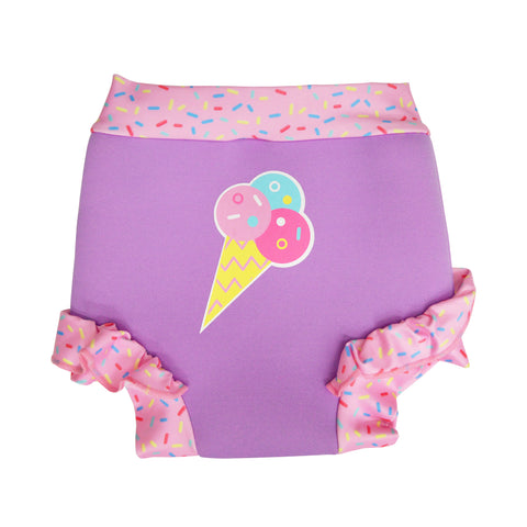 Aqua Bubs - Girls Sprinkle Aqua Nappy