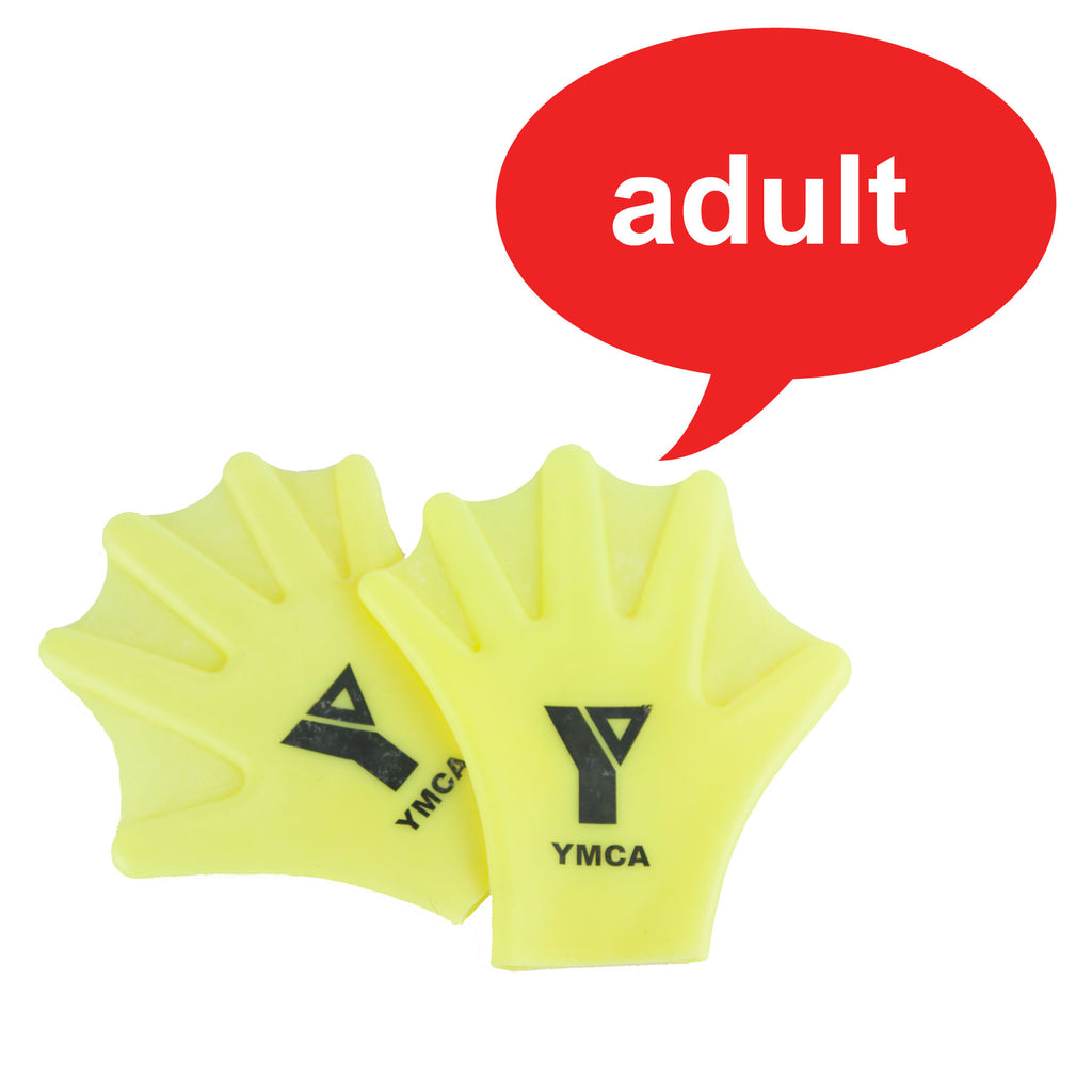 Silicone Swim Gloves - Adult