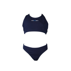 Iliara Jnr - Girls 2 piece racer - Navy