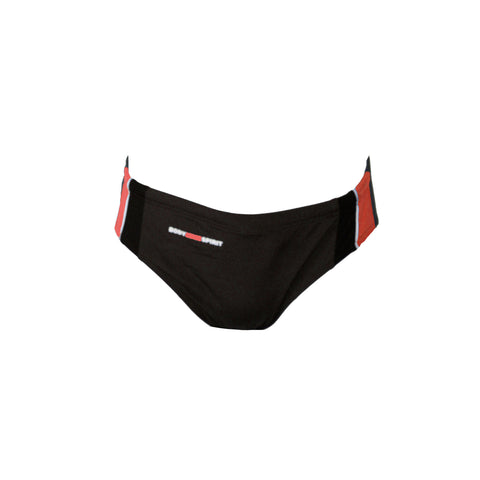 Idalgo - Mens Splice Basic Racer - Black/Red/Grey