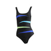 ADA Belle - Scoop-Neck Spliced Swimsuit