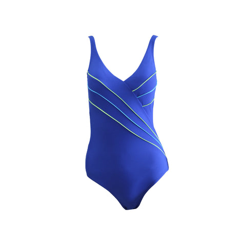 ADA Belle - Crossover Swimsuit (BC cup - Atlantic)
