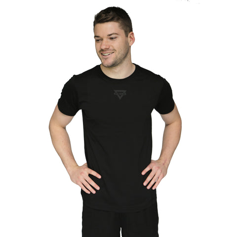 Mens Triangle Active Tee - Black