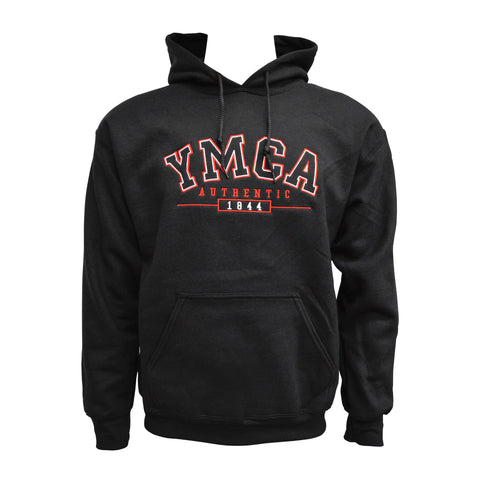 YMCA Authentic Signature Hoodie - Black