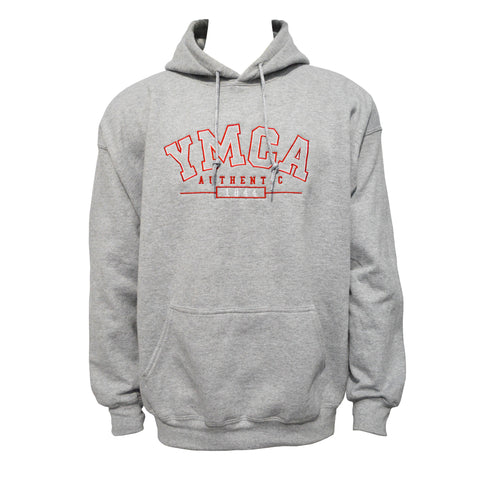 YMCA Authentic Signature Hoodie - Grey