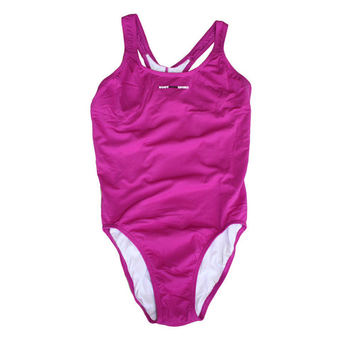 Naomi - Womens Basic Racer - Purple
