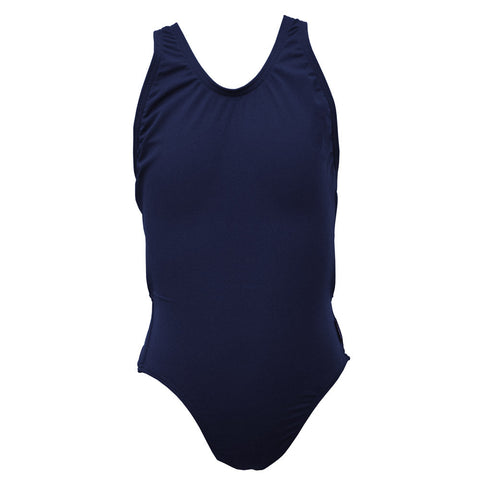 Girls Exposure Back Swimsuit - Navy
