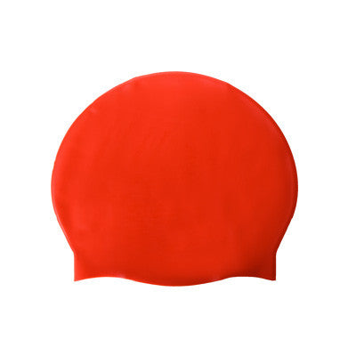 Silicon Swim Cap - Red