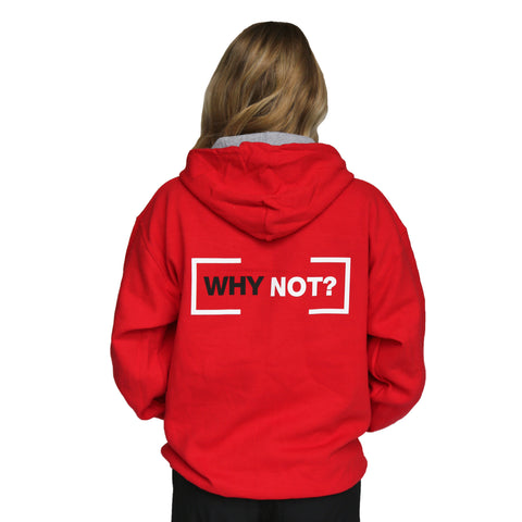 YMCA WHY NOT Unisex Hoodie - Red