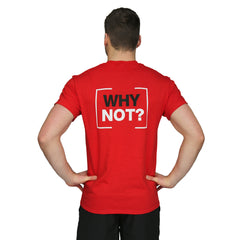 YMCA WHY NOT Campaign Tees - Red