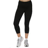 Womens 3/4 Active Legging  - Black