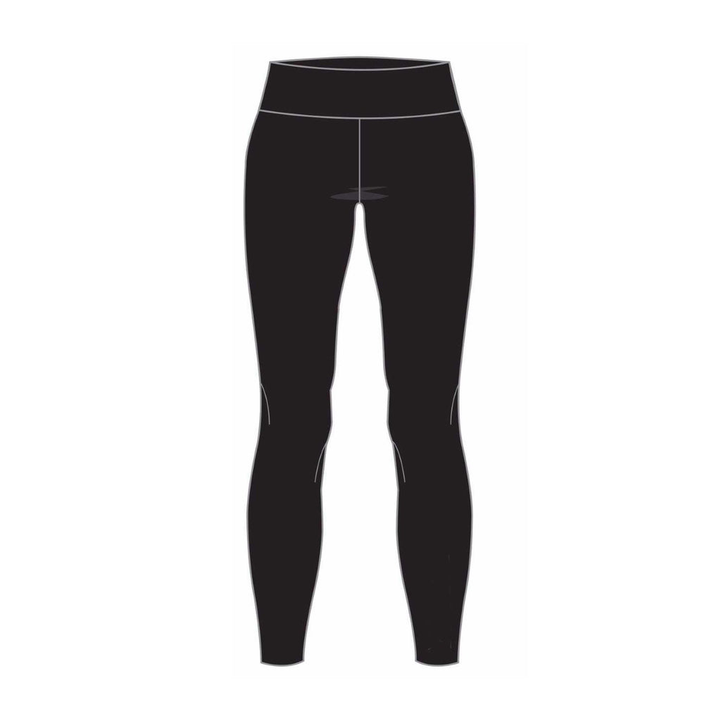 Womens Full Length Active Legging - Black