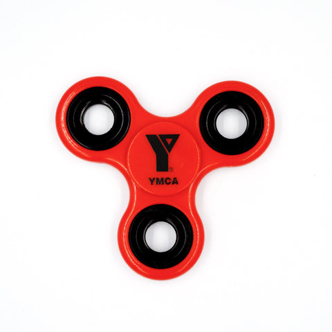 YMCA Fidget Spinner - Red