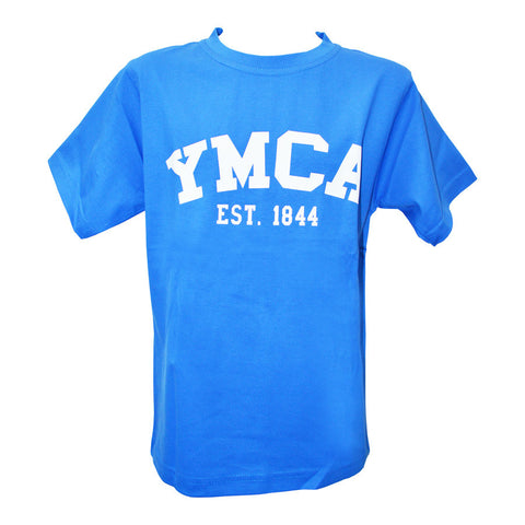 Youth Signature Tee - Victoria Blue